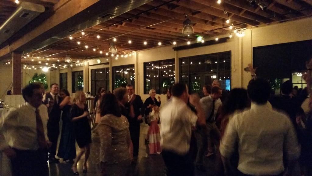 Portland Wedding DJ Plays Castaway Reception Dancing