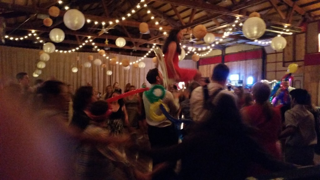 Raging Bat Mitzvah Party Chair Raising