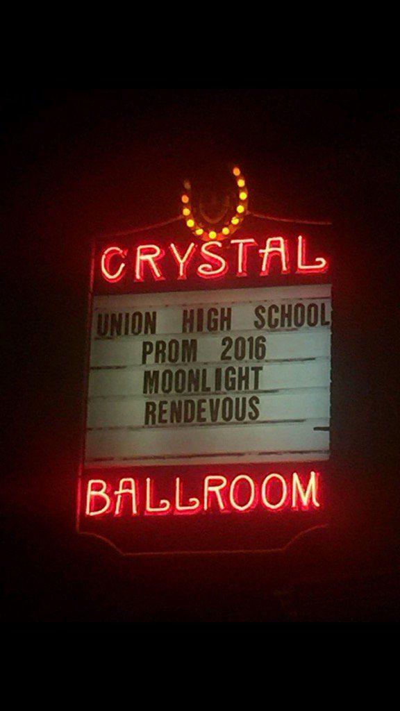 Union High School Prom April 16, 2016
