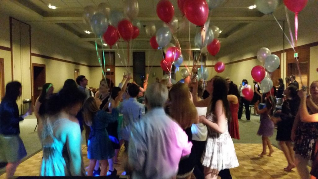 Bat Mitzvah Party Portland 5-28-16
