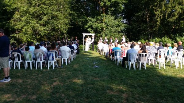 Horning's Hideout Wedding 8-5-17