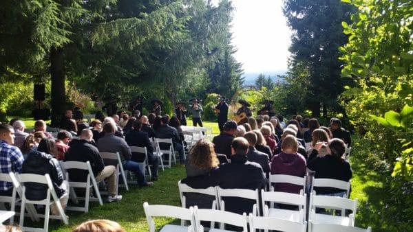 Mt. Hood Organic Farms October Wedding (10-1-17)