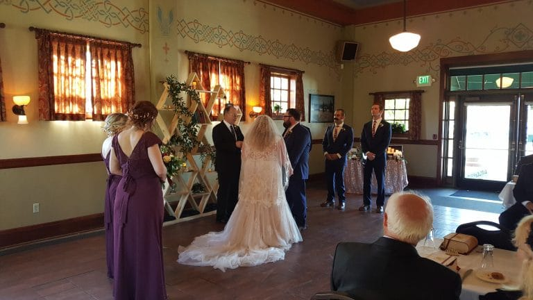 Karaoke Wedding McMenamins Edgefield Troutdale (11-17-18)