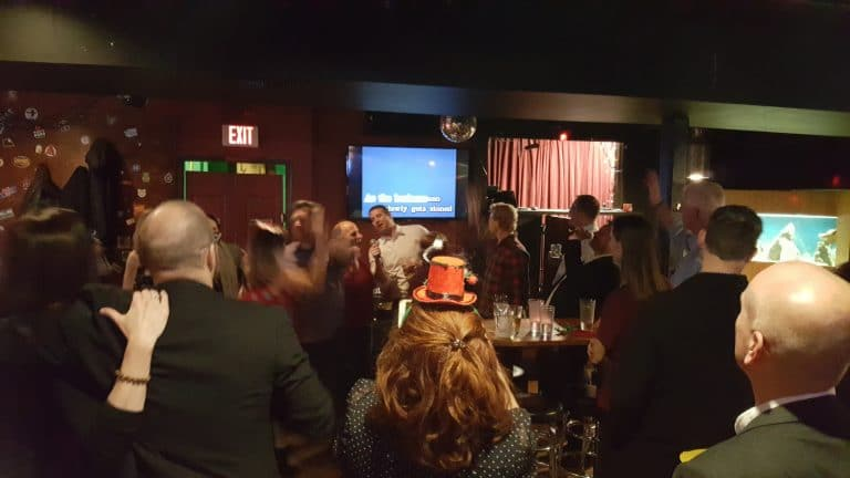 Portland Corporate Holiday Karaoke Party (12-4-18)
