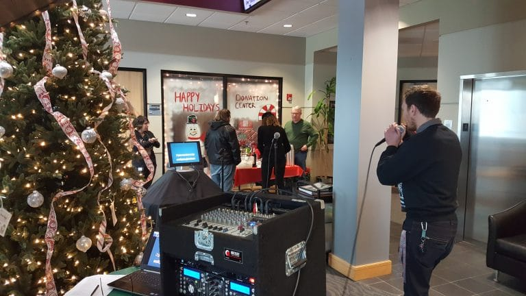 Portland Corporate Holiday Karaoke Party (12-7-18)