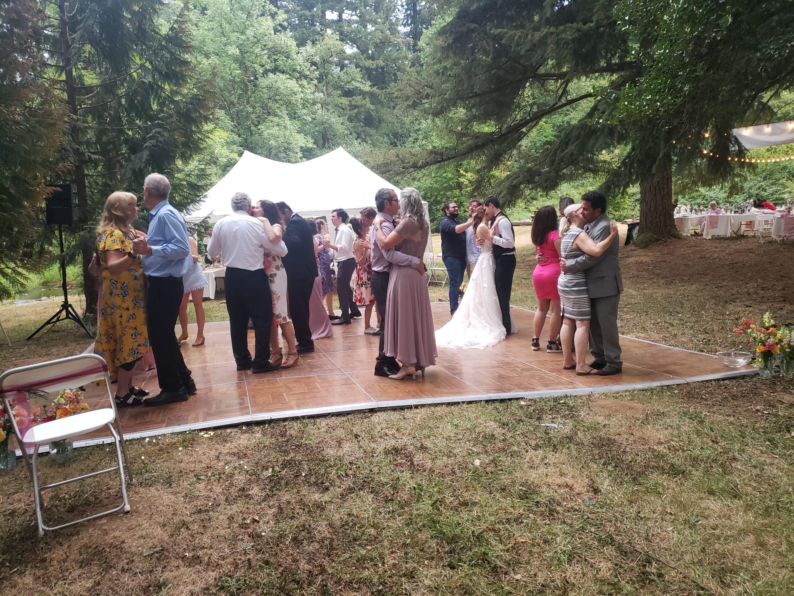 Whispering Waters Farm Washougal Wedding (7-31-2021)
